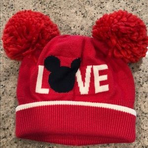 Baby Gap Disney Mickey Mouse Love beanie
